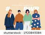international women's day 8th... | Shutterstock . vector #1920845084