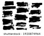brush strokes. vector...   Shutterstock .eps vector #1920874964