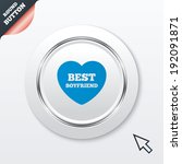best boyfriend sign icon. heart ...