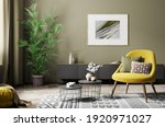 Interior Of Living Room With...