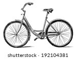 bicycle | Shutterstock . vector #192104381