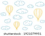 seamless pattern with blue...   Shutterstock .eps vector #1921079951
