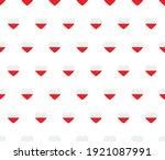 heart poland  flag seamless... | Shutterstock .eps vector #1921087991