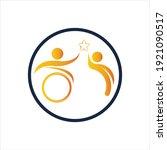 disability logo vector...   Shutterstock .eps vector #1921090517