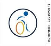 disability logo vector...   Shutterstock .eps vector #1921090541