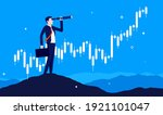 stock market research  ... | Shutterstock .eps vector #1921101047