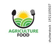 agriculture food logo template... | Shutterstock .eps vector #1921105037