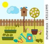 vector illustration of... | Shutterstock .eps vector #192111995