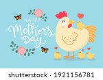 happy mother's day greeting... | Shutterstock .eps vector #1921156781