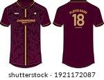 sports jersey t shirt design ... | Shutterstock .eps vector #1921172087