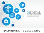 vector modern medical...   Shutterstock .eps vector #1921184297