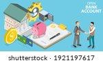 3d isometric flat vector...   Shutterstock .eps vector #1921197617