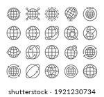 globe icon. global... | Shutterstock .eps vector #1921230734