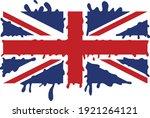 Splat Flag Of United Kingdom  ...