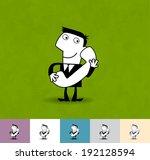 call us. business illustration  ... | Shutterstock .eps vector #192128594