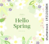 shopping banner illustration... | Shutterstock .eps vector #1921310804