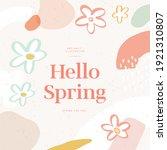 shopping banner illustration... | Shutterstock .eps vector #1921310807