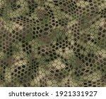 Hexagonal Camouflage Seamless...