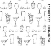 seamless vector pattern with...   Shutterstock .eps vector #1921386821