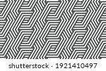 elegant abstract geometric... | Shutterstock .eps vector #1921410497