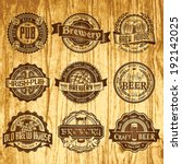 abstract,alcohol,background,badge,banner,bar,barrel,beer,beverage,board,brewery,brown,business,collection,design