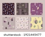 seamless trendy abstract...   Shutterstock .eps vector #1921445477