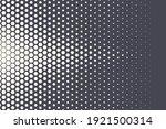 halftone hexagonal pattern...   Shutterstock .eps vector #1921500314