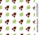 ash poplar pattern. idea for... | Shutterstock .eps vector #1921510067
