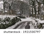 Old English Country Lane In The ...