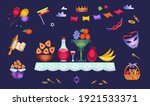 purim. holiday concept... | Shutterstock .eps vector #1921533371