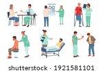 patient examination.... | Shutterstock .eps vector #1921581101