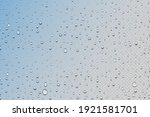 water drops. realistic rain... | Shutterstock .eps vector #1921581701