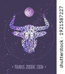 modern magic witchcraft card...   Shutterstock .eps vector #1921587227