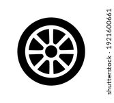 wheel disks icon  logo isolated ...   Shutterstock .eps vector #1921600661
