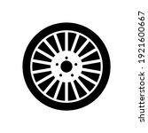 wheel disks icon  logo isolated ...   Shutterstock .eps vector #1921600667