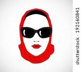 lady | Shutterstock .eps vector #192160841