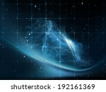 geometry of space series.... | Shutterstock . vector #192161369