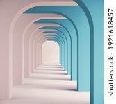 Pastel Color  Geometric Shapes...