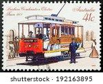 australia   circa 1989 a... | Shutterstock . vector #192163895