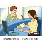 young male teenage guy man... | Shutterstock .eps vector #1921641431