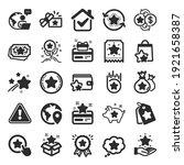 loyalty program icons. bonus...   Shutterstock .eps vector #1921658387