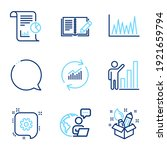 education icons set. included... | Shutterstock .eps vector #1921659794