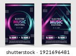 night dance party music layout... | Shutterstock .eps vector #1921696481