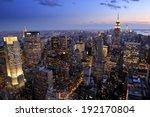 New York City Skyline ...