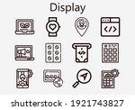 premium set of display  s ...