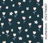 floral seamless vector pattern... | Shutterstock .eps vector #1921756067