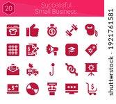 successful small business icon...