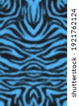 fashionable zebra skin ... | Shutterstock . vector #1921762124