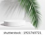 white product display podium...   Shutterstock . vector #1921765721