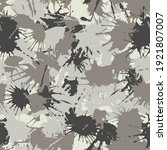 blots camo seamless pattern.... | Shutterstock .eps vector #1921807007